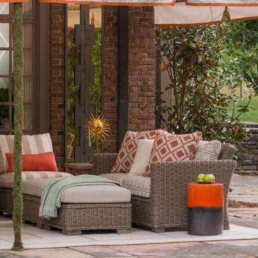 Outdoor Upholstery Fabrics Sunbrella, How To Clean Outdoor Furniture Fabric Cushions