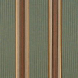 Sunbrella Shade - Forest Vintage Bar Stripe - 4949-0000