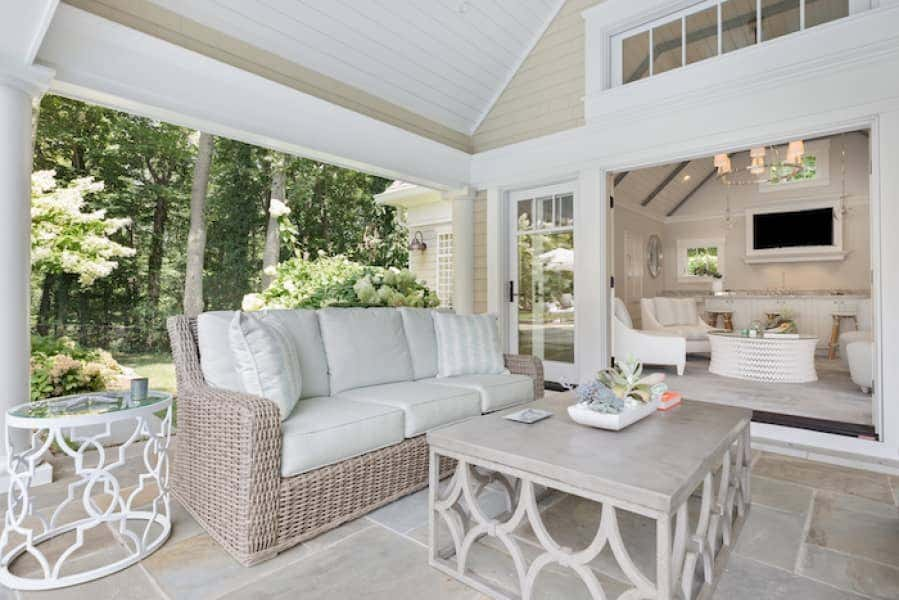 Gentile's outdoor furniture complete with high performance fabrics create timeless appeal made to last.