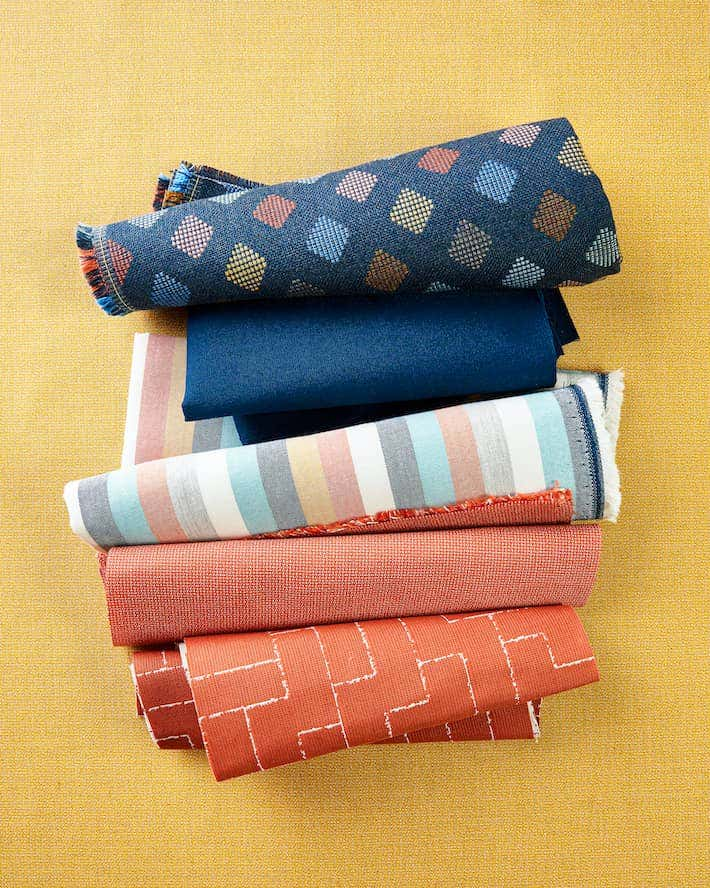 Indoor upholstery performance fabrics