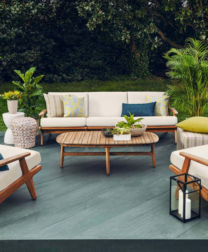 Patio design ideas are made easy with Sunbrella