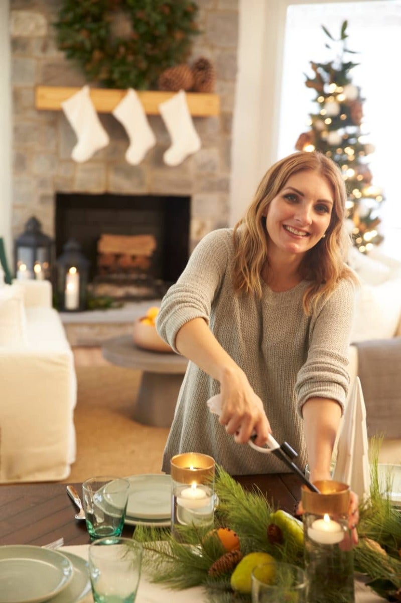 Emily Clark decorates the Southern Living Idea House for the holidays