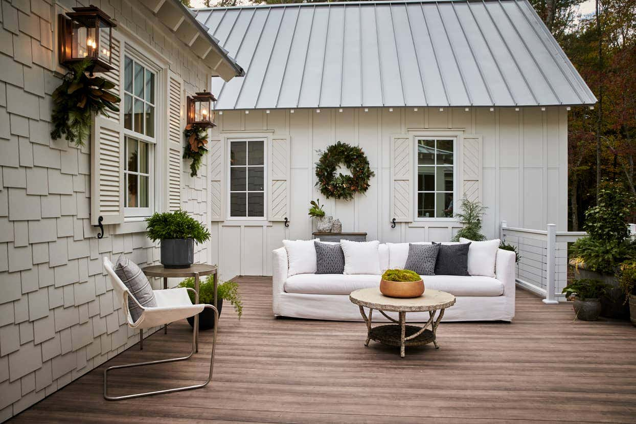 The Southern Living Idea House is located in Asheville, North Carolina, this year