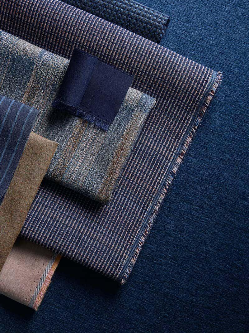 textured Sunbrella upholstery fabric