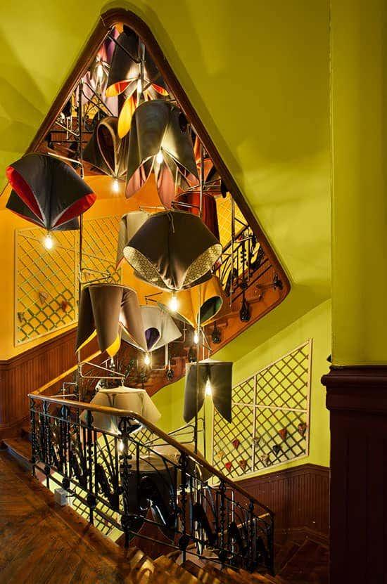 Vestibulo y Esclera Izaskun Chinchilla Architects Espacio Sunbrella