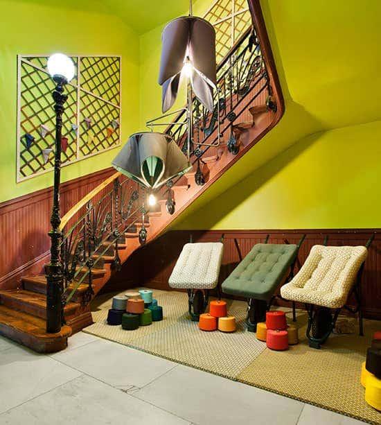 Stairway at Casa Decor Event