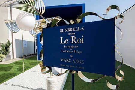 Entrance to Le Roi