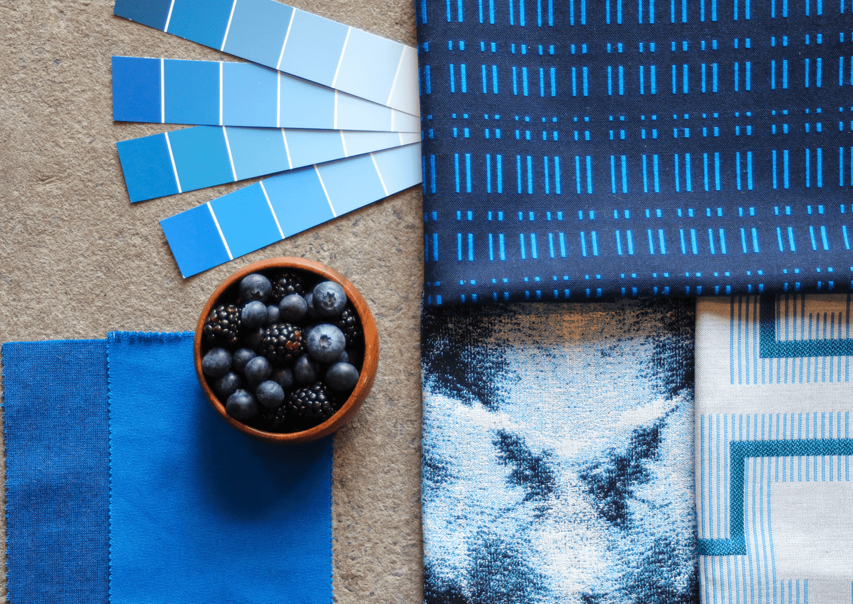 Use Pantone's Color of the Year, Classic Blue, as a jumping-off point for decor inspiration.