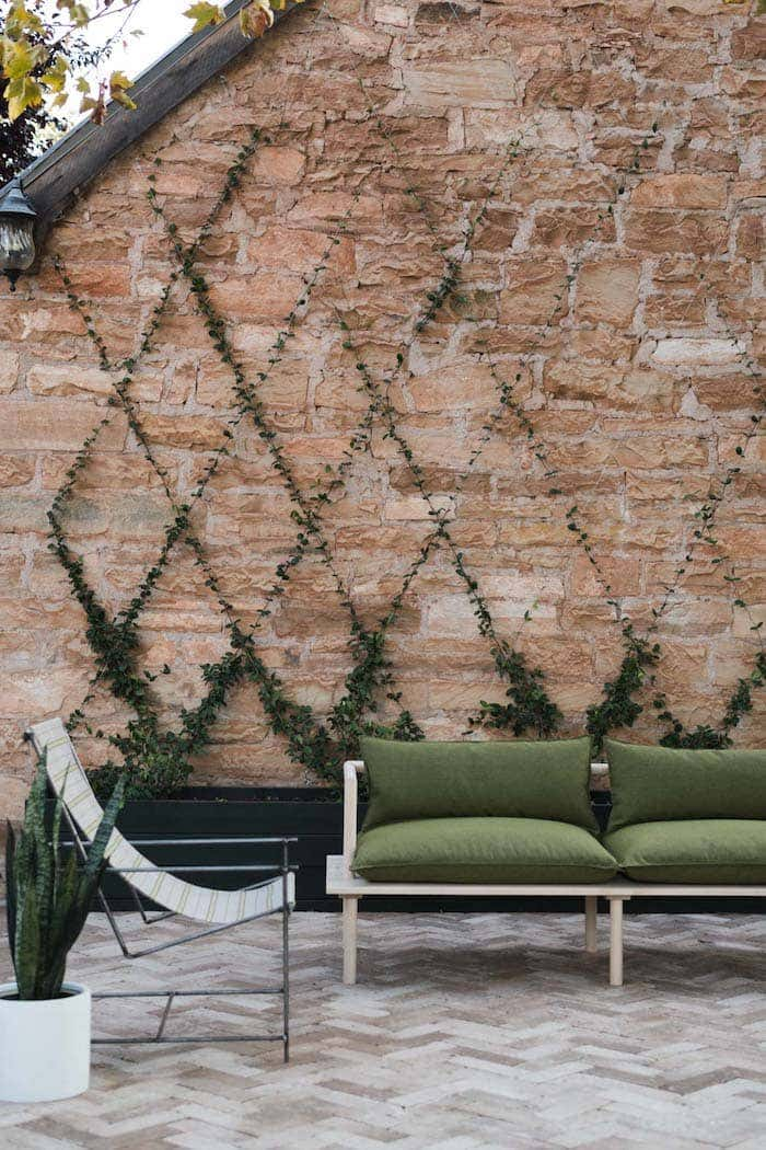 Don't limit your reupholstery ideas to indoors. Sunbrella also makes performance fabric suited for outdoor environments.