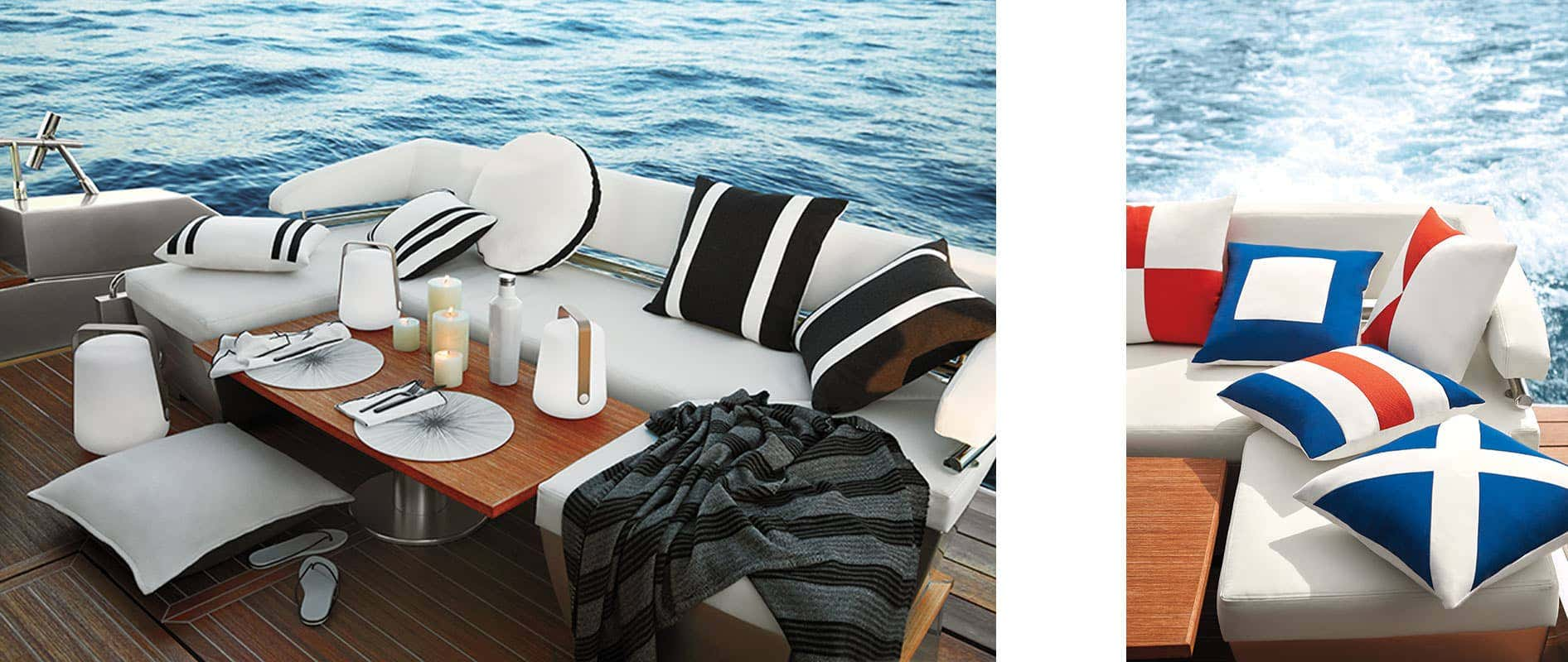 Pillows on a Boat