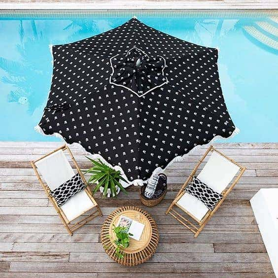 No patio is complete without Sunbrella patio umbrellas to offer shade and comfort for outdoor fun.