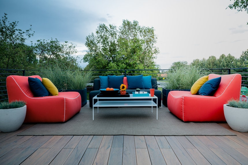 easy to clean outdoor fabric