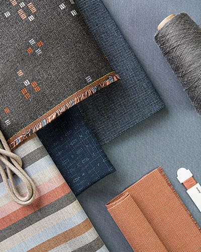 A selection of fabrics from the Balance Collection