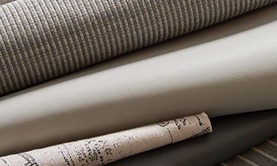 Tan marine upholstery fabric