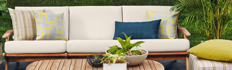 Sunbrella Fabrics for Outdoor Living